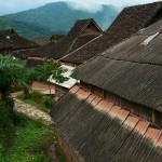 Wieś Zhengdong na trasie Jiangcheng-Jinghong