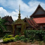 Menghan, Dai Theme Park, Mangza Buddhist Temple